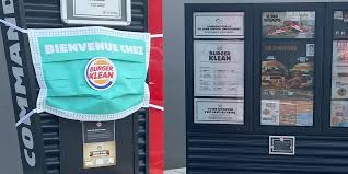 Burger King communication-restaurants-drive-livraison-burgers-réseaux sociaux-Instagram-Facebook-Twitter-confinement-covid-19-communication-promotion-mesures-street marketing-réouverture-clean
