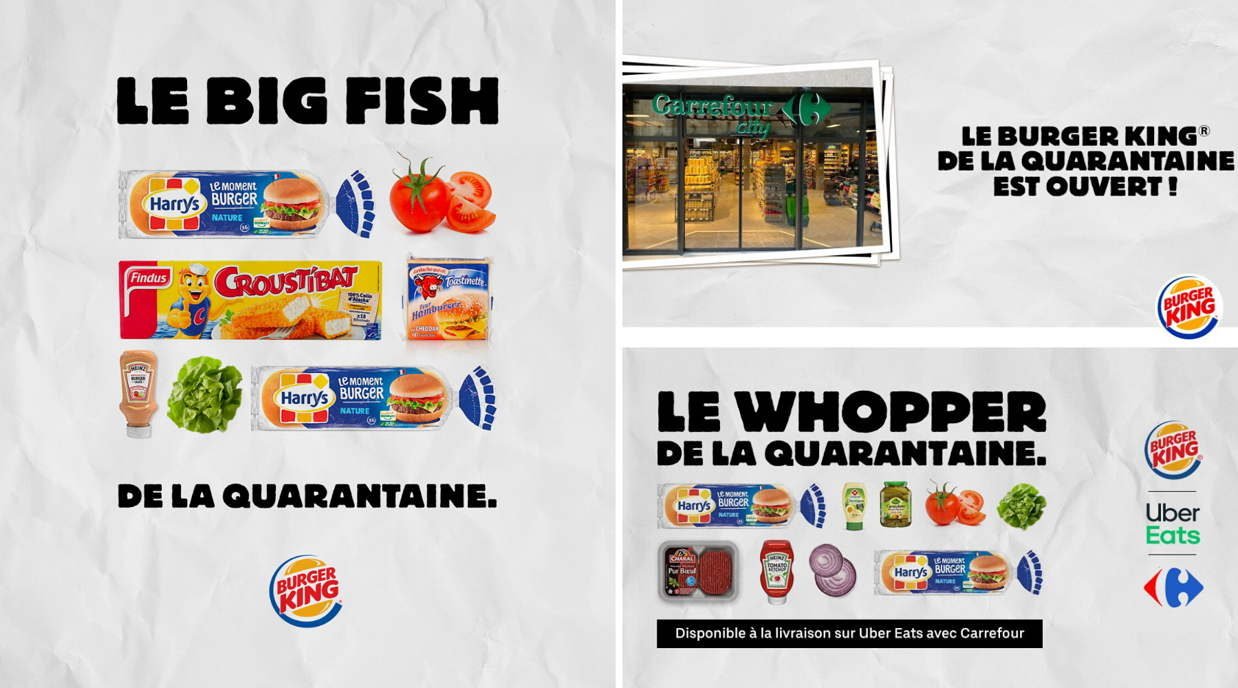 Burger King communication-restaurants-drive-livraison-burgers-réseaux sociaux-Instagram-Facebook-Twitter-confinement-covid-19-communication-promotion-mesures-street marketing-réouverture