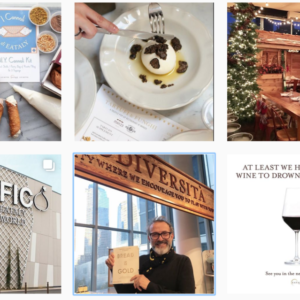 EATALY - communication réseaux sociaux influencer marketing food MALOU