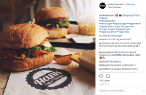 photo Instagram burger