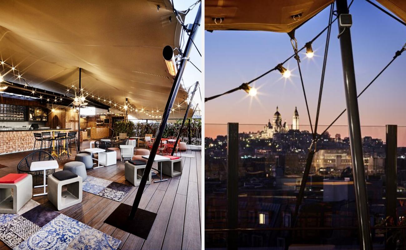 meilleurs rooftops paris-restaurants-bars-paris-terrasses-rooftops-vue-Khayma Rooftop Bar