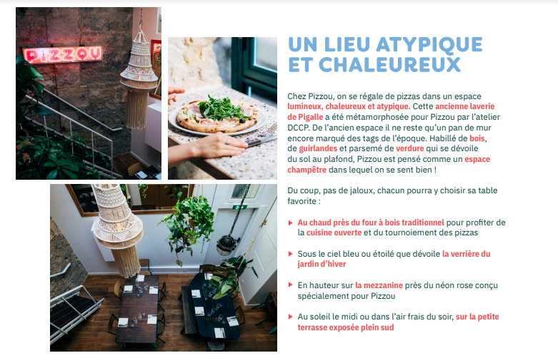 communication restaurant-référencement local-plateformes-annuaires-avis clients -instagram-facebook-stories-posts-relations presse-storytelling-journalistes-influenceurs-community managem-pizzou
