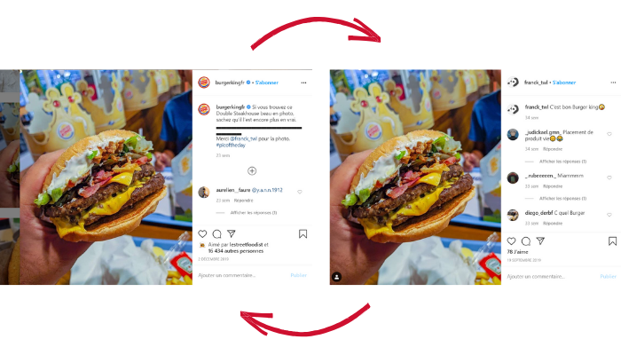 communication restaurant-référencement local-plateformes-annuaires-avis clients -instagram-facebook-stories-posts-relations presse-storytelling-journalistes-influenceurs-community management-BK