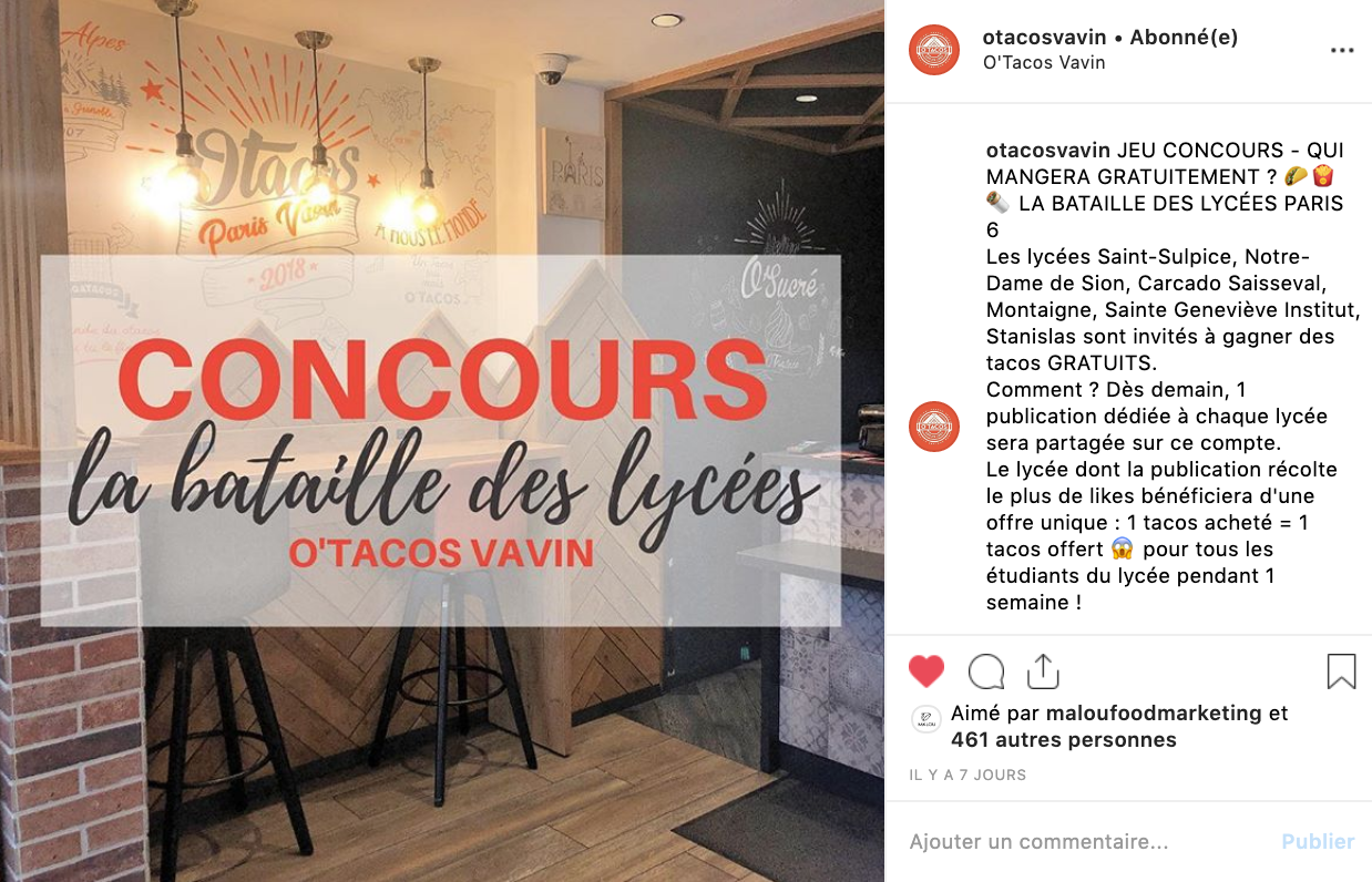 communication restaurant-référencement local-plateformes-annuaires-avis clients -instagram-facebook-stories-posts-relations presse-storytelling-journalistes-influenceurs-community management-ota