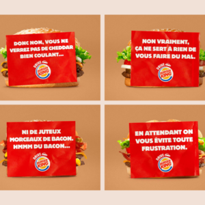 Burger King communication-restaurants-drive-livraison-burgers-réseaux sociaux-Instagram-Facebook-Twitter-confinement-covid-19-communication-promotion-mesures-street marketing-réouverture-site-image